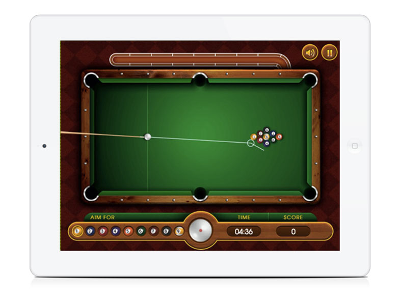 White Label Browser Game 8 Ball Pool HTML5