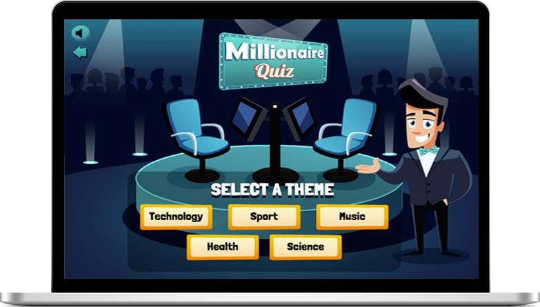 White Label Browser Game Millionaire Quiz HTML5