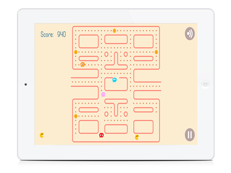 White Label Browser Game Pocket Pac HTML5